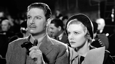 The 39 Steps (1935), Robert Donat, Madeleine Carroll