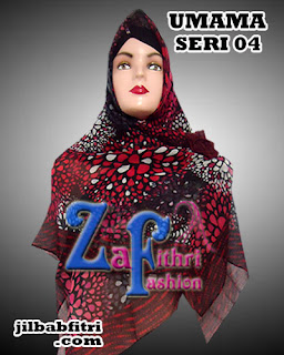 Jual Murah Jilbab Segi Empat Umama Motif Cantik