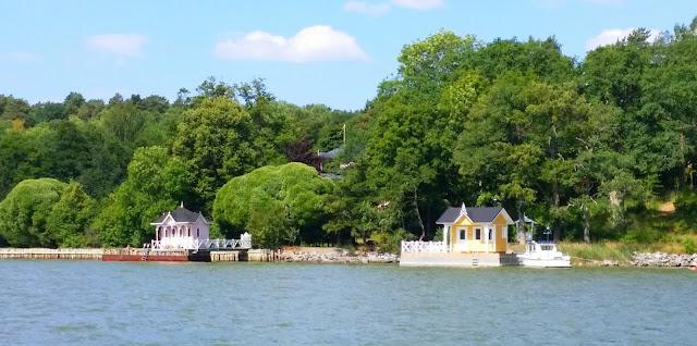 Turku, Ruissalo, uimamajat, meri