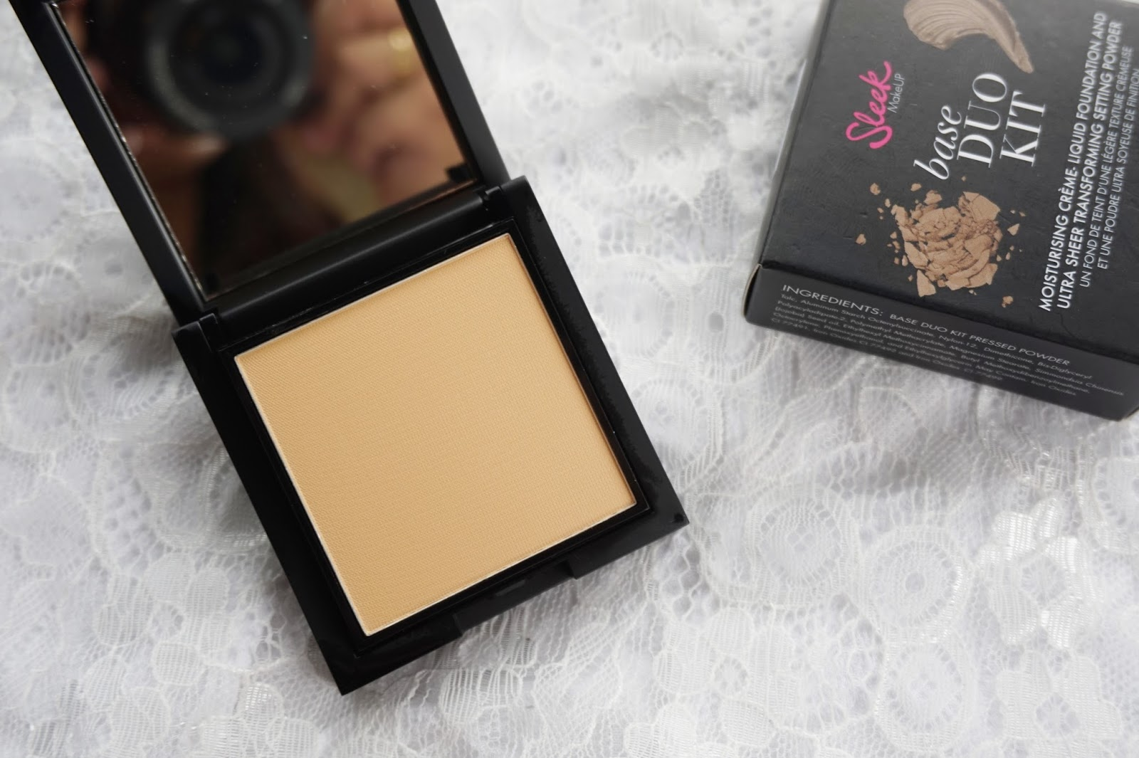 sleek setting powder review