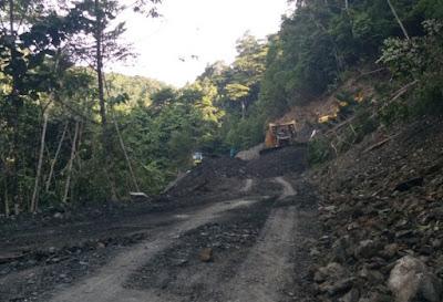 Jalan Trans Nabire-Paniai Masih Rusak 5 Kilometer
