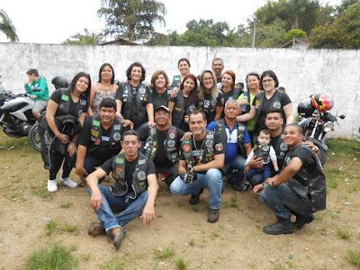 Motociclistas e AMBASE fazem ação para crianças no Serrote
