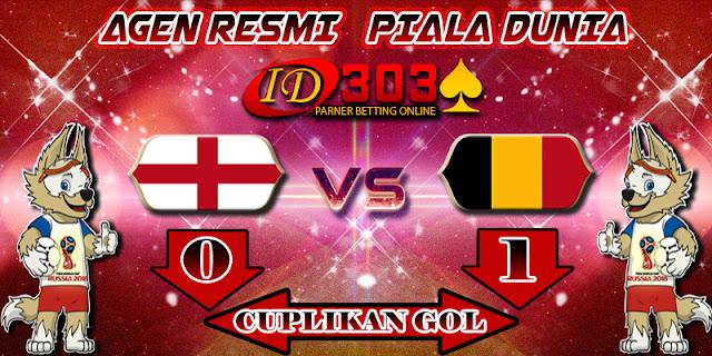 CUPLIKAN GOL ENGLAND 0 - 1 BELGIUM
