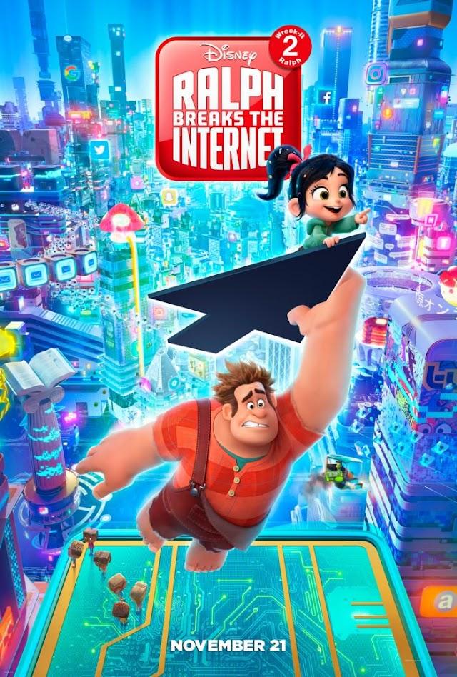 Wreck it Ralph 2 Trailer 2018 - Ralph Breaks the Internet