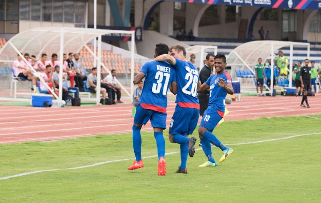 Bengaluru FC beat Tampines, take big step towards spot in the semis