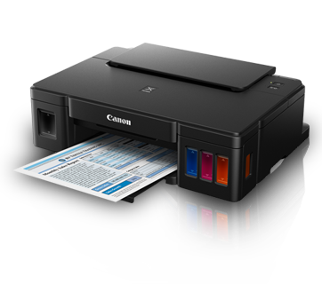 Canon designed the tank refills conventional printer amongst built Canon Pixma G1000 Driver Download