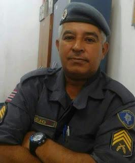 Em Caxias o comandante do 2º BPM emite nota de pesar pelo falecimento do sargento Bazílio