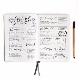 inspiração, inspirações, bujo, bullet journal, indice, mês, ano, futuro, dia, organização, log, organizar, vida