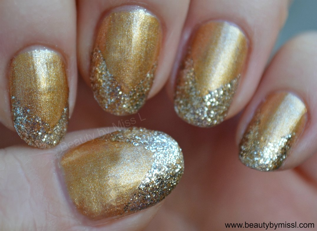 simple glitter manicure & tutorial