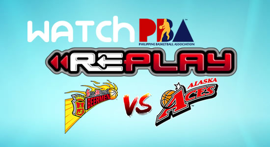 Video List: SMB vs Alaska game replay February 17, 2018 PBA Philippine Cup