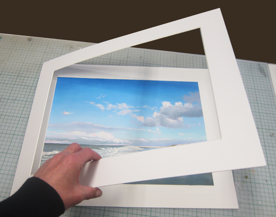 Painting Skies Passe Partout