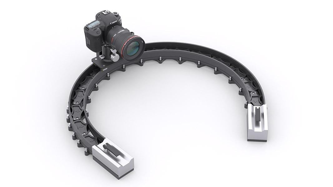 Минимальный диаметр изгиба Multi Slider — 50 см