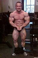 Handsome Male Bodybuilder, James Llewellyn