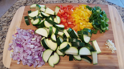 Colorful Vegetables for Vegetable Medley