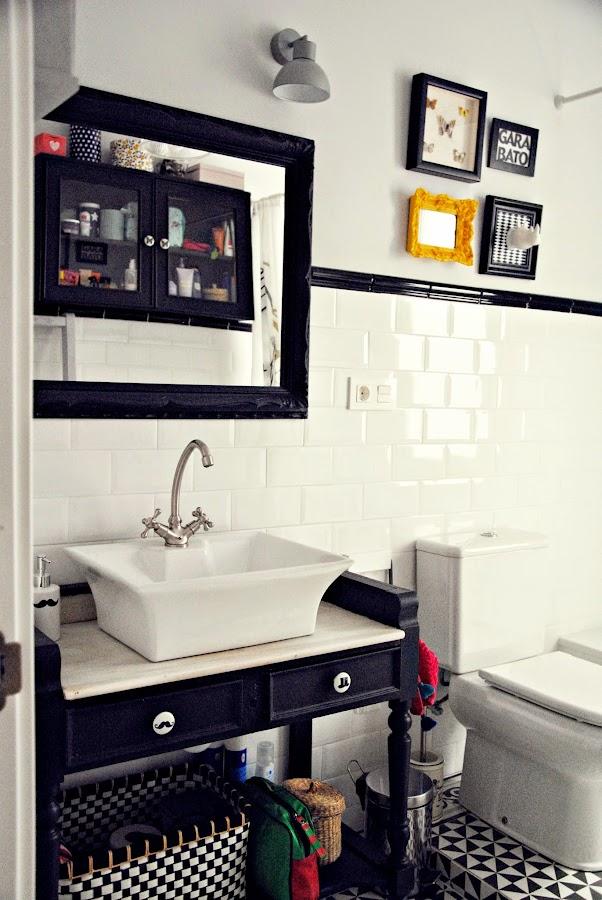 Decora tu cuarto de baño con piezas recuperadas