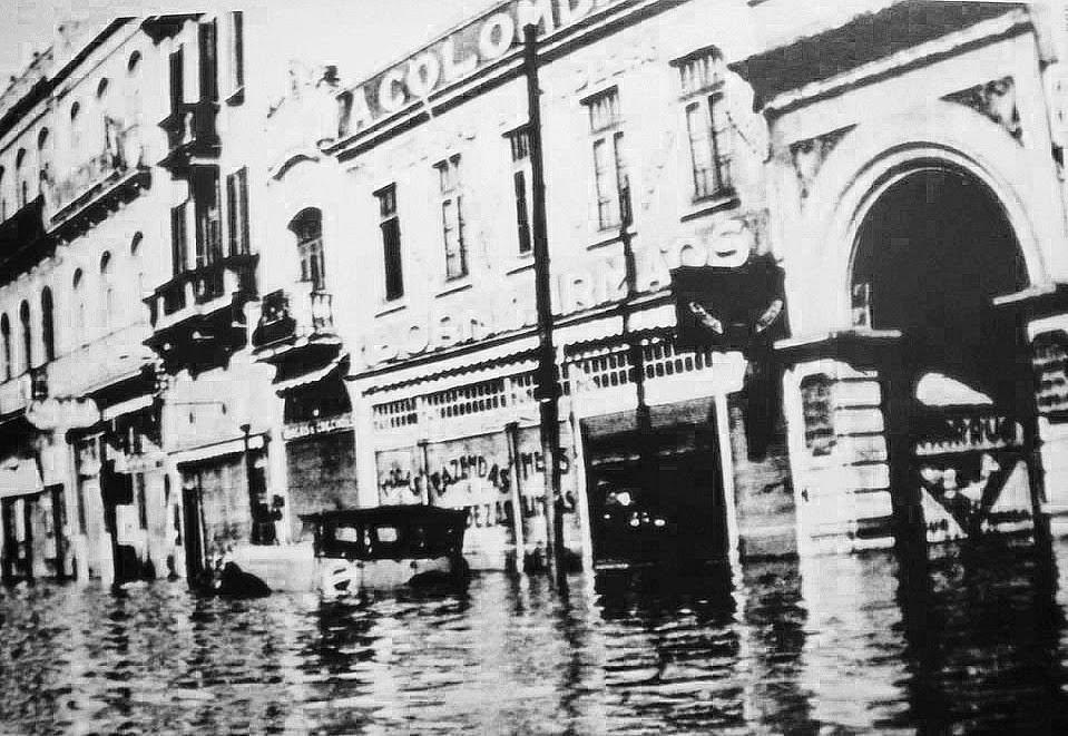 Enchente de Porto Alegre, em 1941.