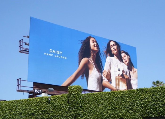 Daisy Marc Jacobs fragrance 2017 billboard