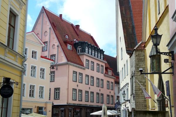 estonie tallinn vieille ville