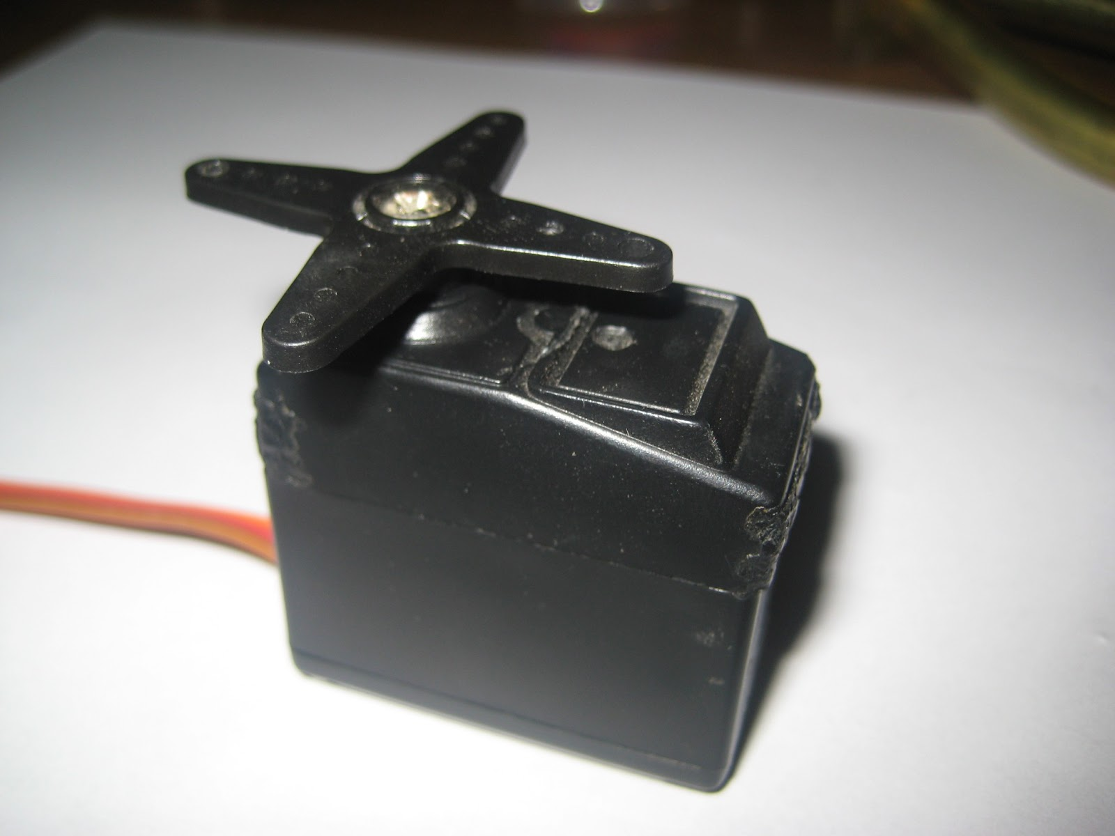Techniks Blog Hacking A Servo Part I Wiring Red Black White It Tipically Has Three Wires Ground Vcc And Pulse Usually