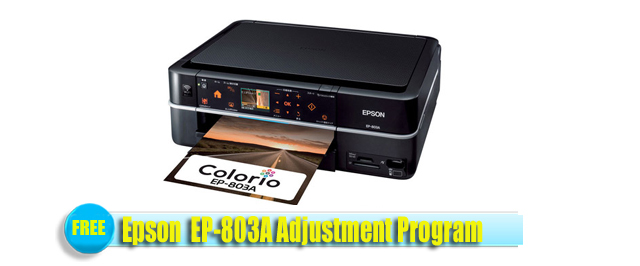 Epson  EP-803A Adjustment Program