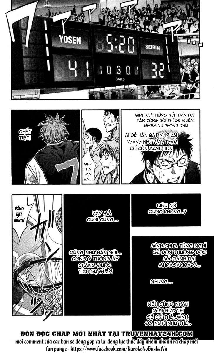 Kuroko No Basket chap 157 trang 9