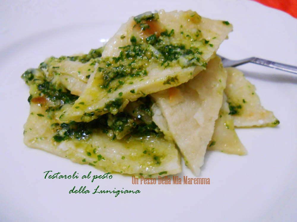 Ricette toscane testaroli al pesto della lunigiana un for Ricette toscane