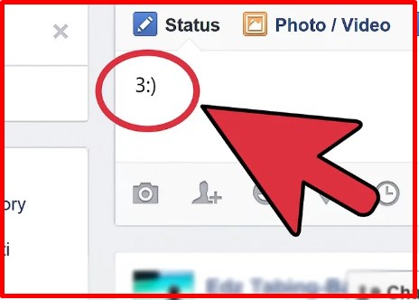 how to create an emoticon on facebook