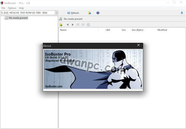 Download IsoBuster 3.8 Pro Full Serial Key Terbaru
