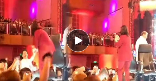 Angel Locsin Supports Robin Padilla When He Interacted With His Fans in PGT