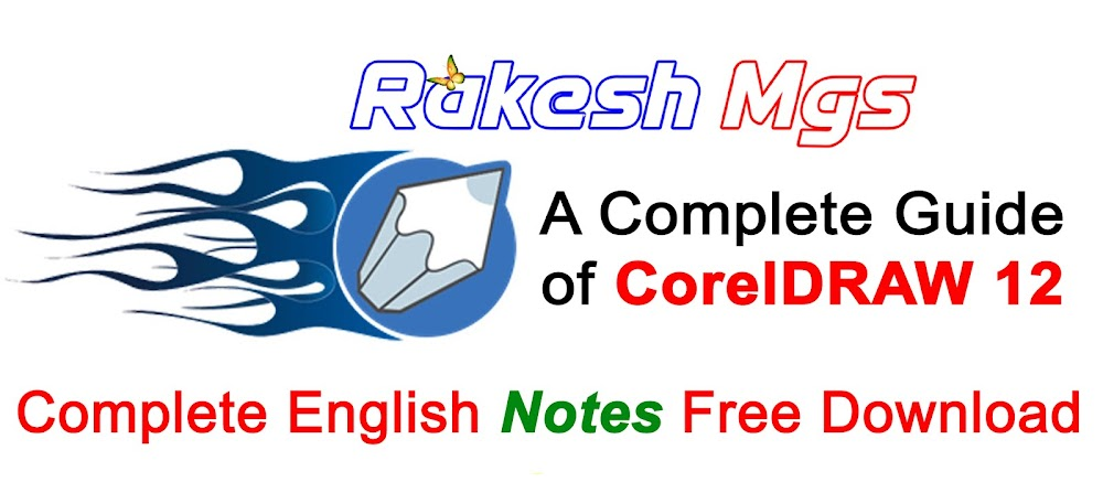 Corel Draw 12 Notes in English PDF Free Download   Complete CorelDRAW Graphic Suite 12 Notes