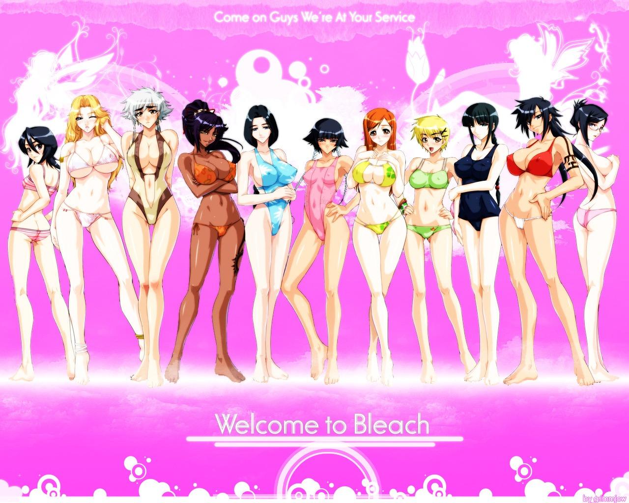 Bleach Women Naked