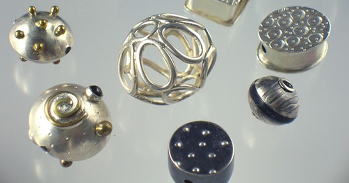 Pocosin Arts Metals Guild Kathryn Osgood Holds Bead