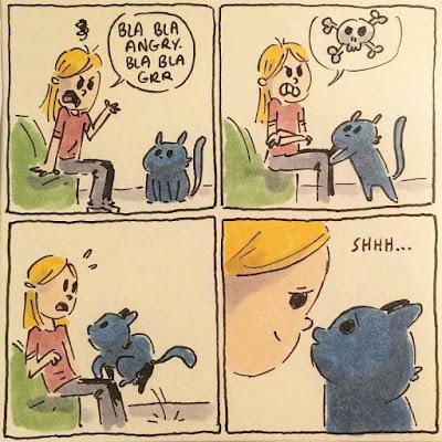 Humor, cosas que hacen los gatos