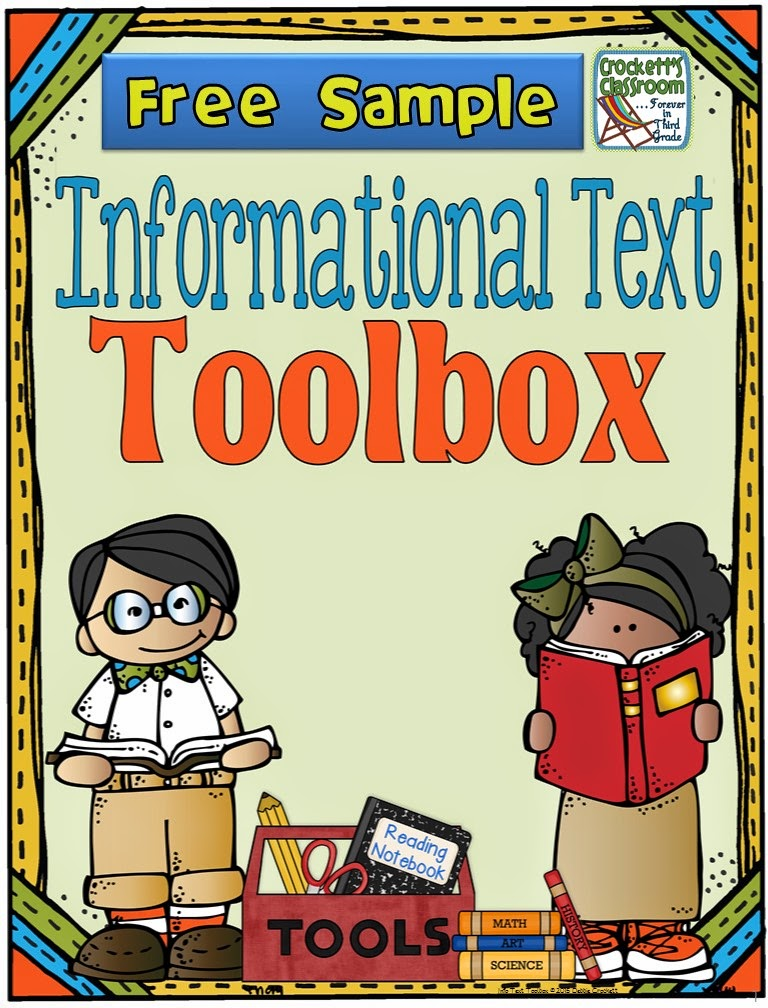 Informational Text Toolbox Free Sample---Crockett's Classroom