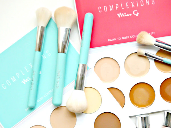 BEAUTY: LIQUID HIGHLIGHTERS, CONTOUR PALETTES & BRUSHES FROM  'COMPLEXIONS' AT MISS G COUTURE
