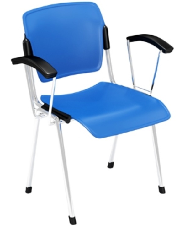Cali Stacking Guest Chair by Via Seating