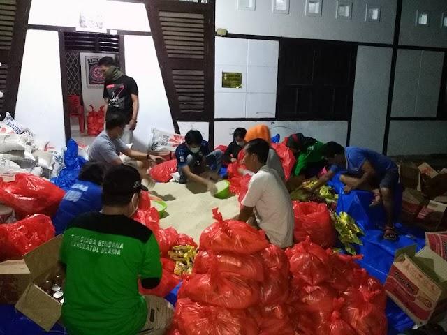 Luar Biasa Aktivitas Tim Relawan Siaga Bencana LPBI-NU Kabupaten Wajo