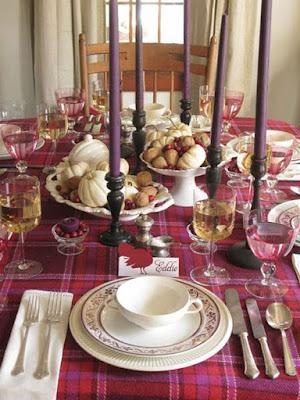 Ιδέες διακόσμησης για τραπέζι Χριστουγέννων