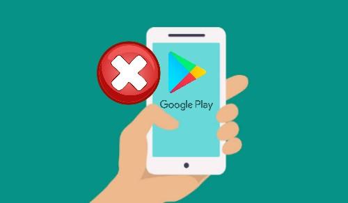 Perbaiki eror google play