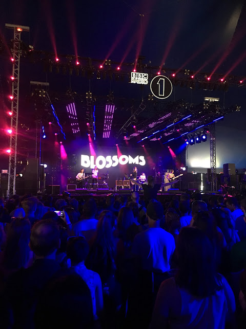 BLOSSOMS RADIO 1 BIG WEEKEND