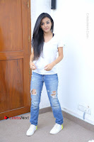 Telugu Actress Mahima Makwana Exclusive Stills in Blue Denim Jeans  0171.JPG
