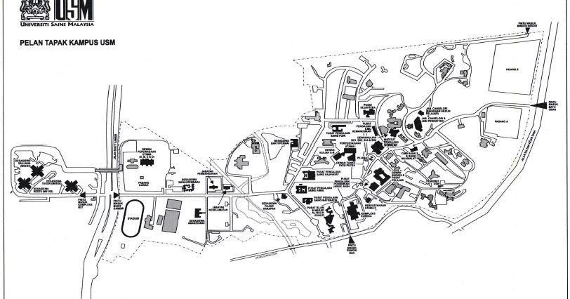 alexazizkhan: Map USM Pulau Pinang