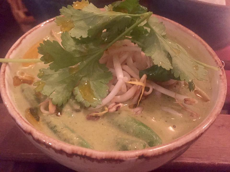Omni Cafe - Asian Tapas in Monkseaton near Whitley Bay | A Menu Review - Thai Green Curry