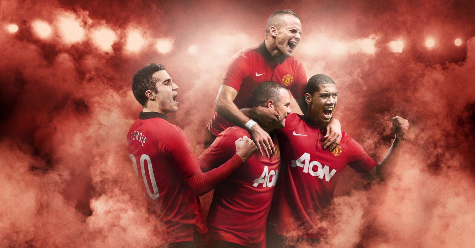 Manchester United 13-14 (2013-14) Home Kit + Goalkeeper