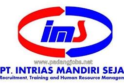 Lowongan Kerja Padang Desember 2017: PT. Intrias Mandiri Sejati