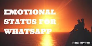 Emotional Status For Whatsapp in English