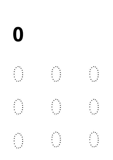 Maestra Marinica Pregrafismo I Numeri