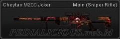 Cheytac M200 Joker