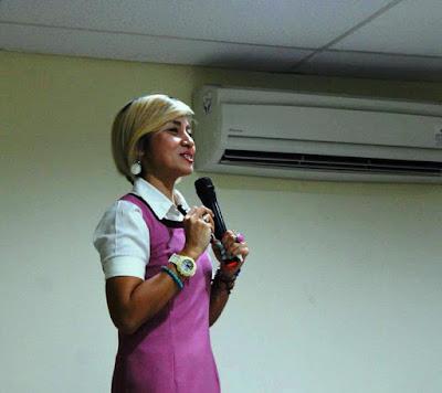 Liza Djaprie selaku psikolog hadir dalam FGD yang digagas oleh Yayasan Lentera Anak
