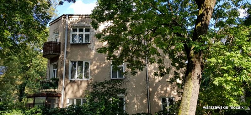 Warszawa Warsaw Saska Kępa lata 30 architektura willa ulice Saskiej Kępy